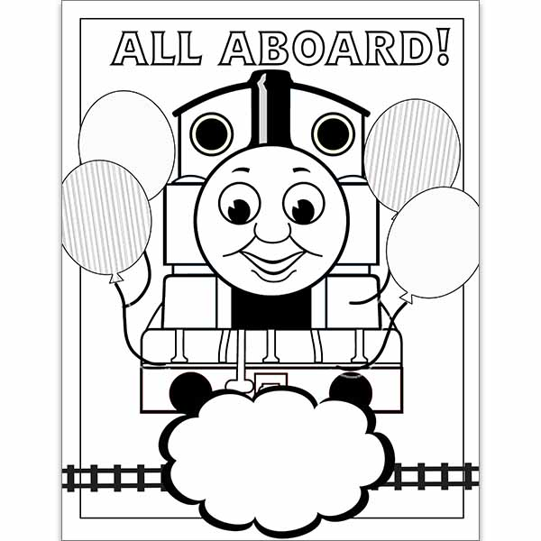 - Thomas Coloring Page Jennifer Caminiti Photo + Events