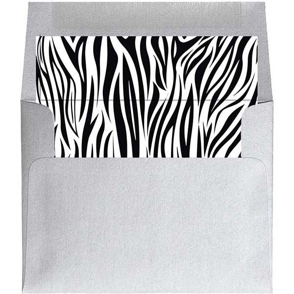 zebra envelope liner