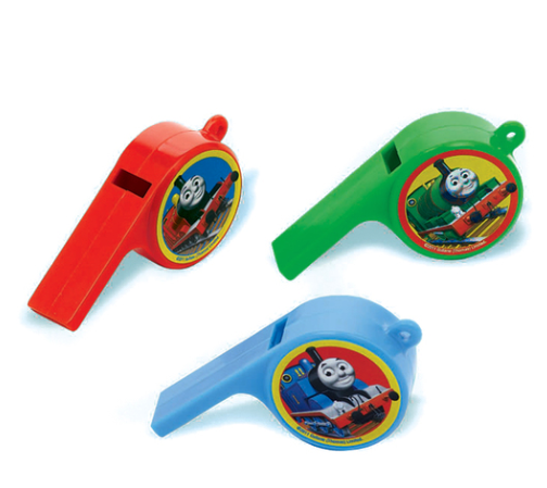 thomas the train whistle party favors