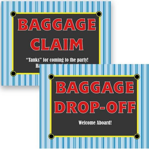 thomas baggage claim signs