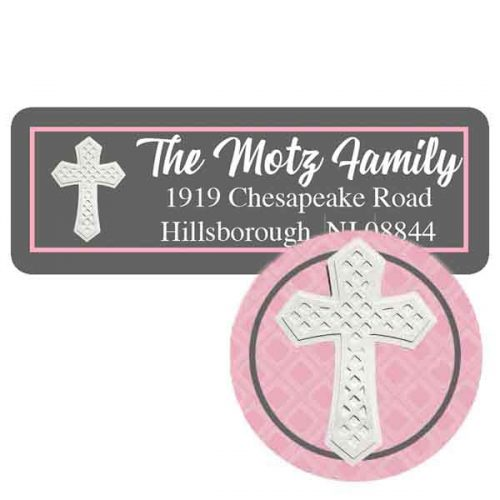 Holy communion label and seal