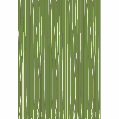 green wavy stripe boutique gift wrap